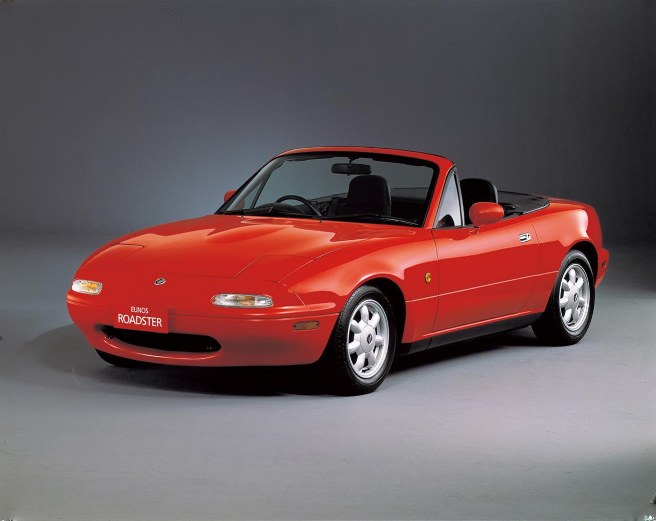 マツダの初代ロードスター(NA型)が「2019日本自動車殿堂 歴史遺産車」に選定!  2003年のコスモスポーツに続く二度目
