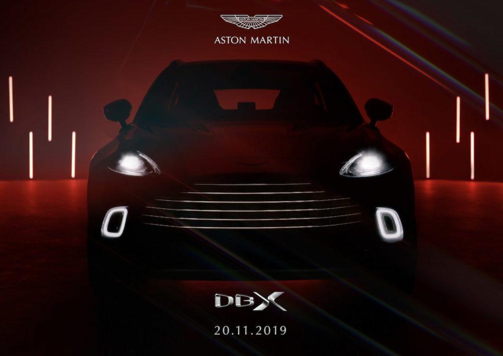 待望SUV「アストンマーティン DBX」の価格が決定! 世界公式デビューは2019年11月20日