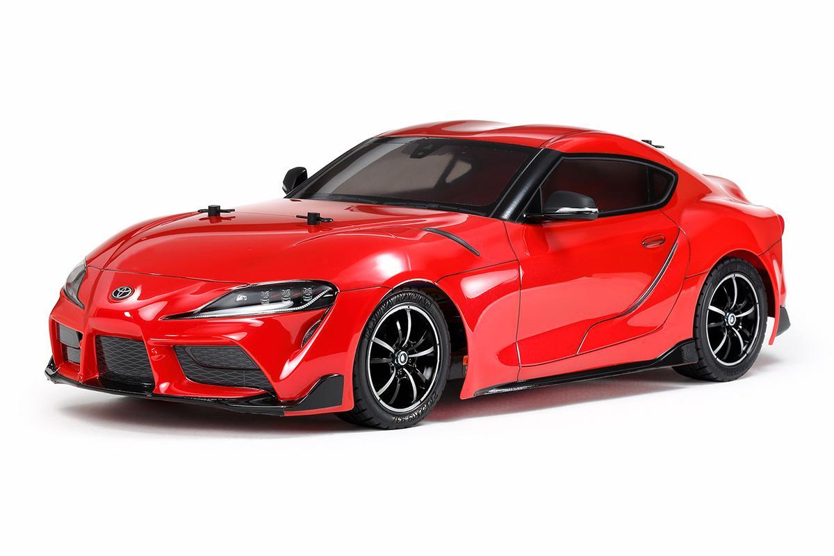 タミヤ電動RCシリーズ最新作! トヨタGRスープラが10分の1スケールで満を持して登場