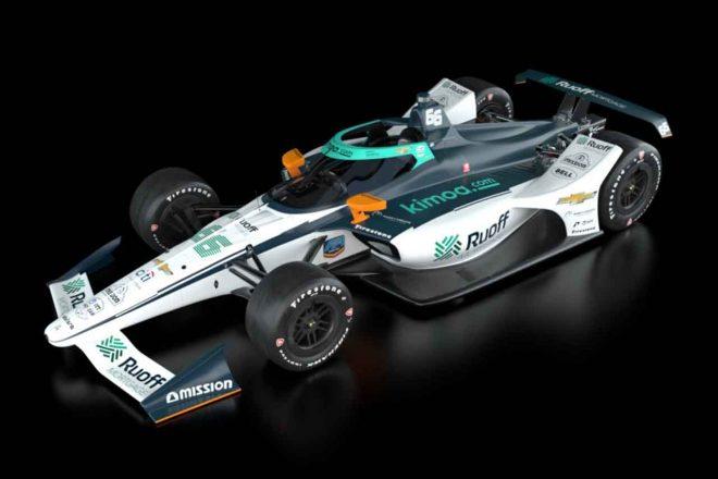 アロンソがインディ500で操るカーナンバー66のカラーリング公開「チームは競争力を発揮すると確信」