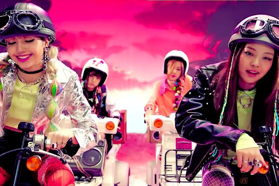 世界を席巻するBLACKPINK、デビュー曲MVにマニアックな日本製バイク!?