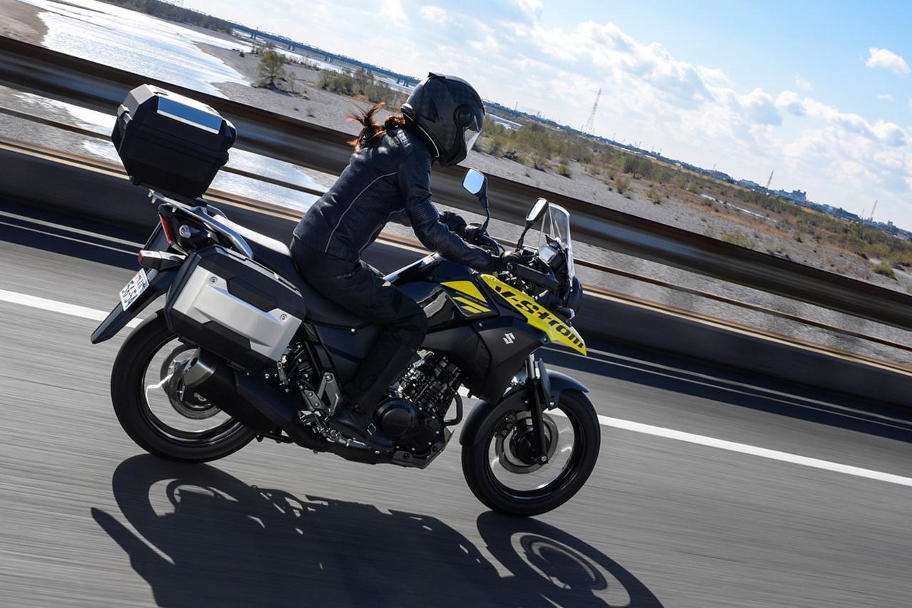 【期間限定】人気の250ccツーリングバイク、スズキ『Vストローム250』を買うなら今がおすすめ!  パニアケースセットがお得に手に入る【SUZUKI/V-Strom250】