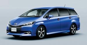 トヨタ ウィッシュを一部改良。燃費向上と快適性をアップ