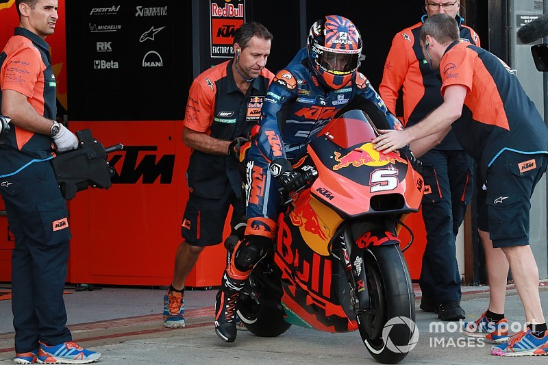 ロレンソの成功を教訓に……KTMへの適応に自信を見せるザルコ|MotoGP