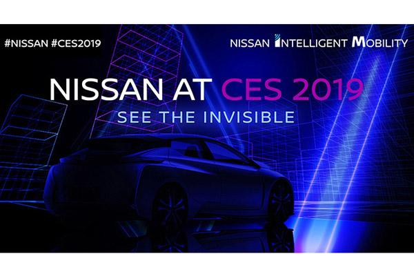 【CES2019】日産、見えないものを可視化 「ニッサン インテリジェント モビリティ」技術を出展