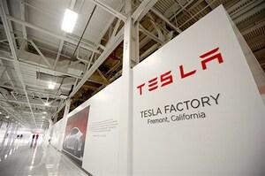 テスラに乗ってテスラを作っているロボットの製造工場を見学に行った