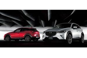 マツダ「CX-3」が発売から約1ヶ月で累計受注1万台オーバー