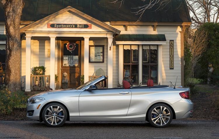 BMW コンパクト・オープン「2シリーズ カブリオレ」が新登場
