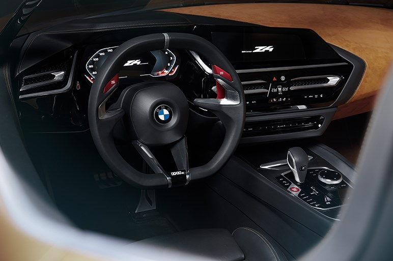 """BMW、次期Z4のコンセプトカーを披露 """"スタイリッシュかつスポーティ""""をさらなる高みへ"""