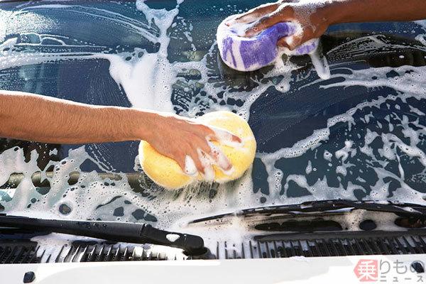 洗車に食器用洗剤、使えるの? カーシャンプーと何が違うのか