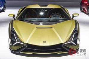車両価格3億9千万円! 史上最強のランボルギーニ「シアン」の驚くべき正体とは