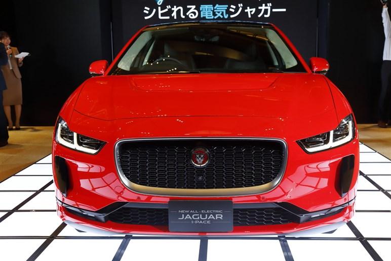 ジャガー初の量産EV、I-PACEを日本導入。航続距離470kmで価格は959万円から