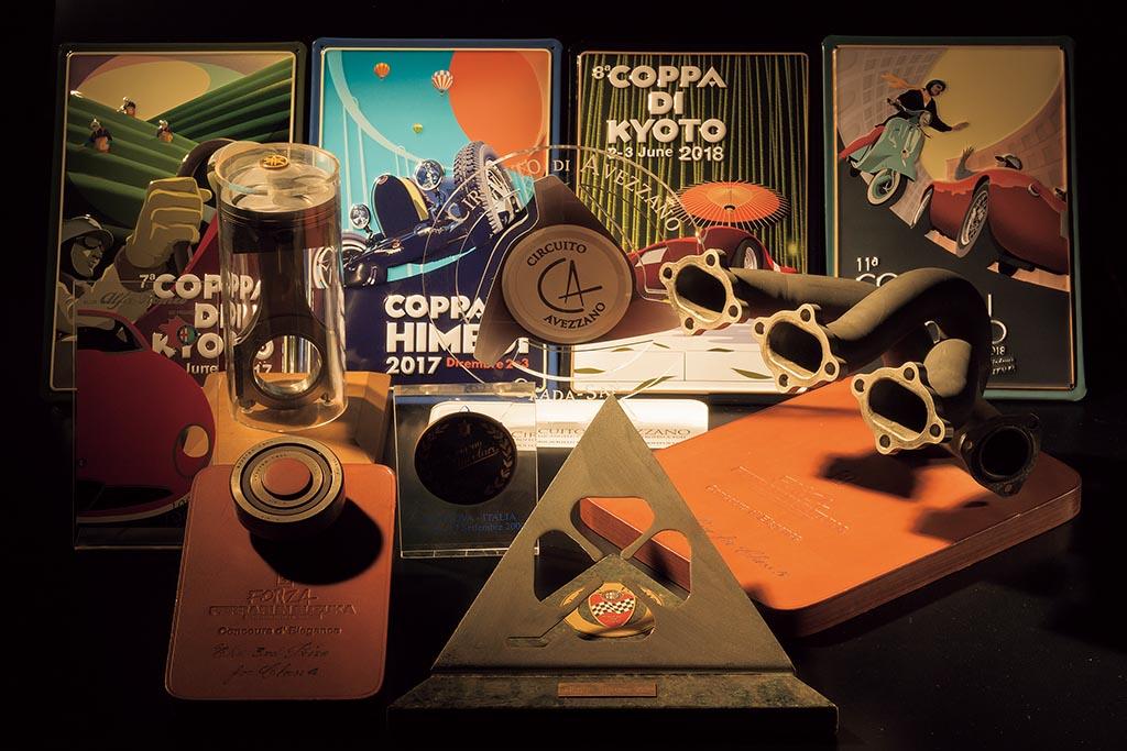 楽しい記憶を留める、様々なクルマのイベントの記念品【GALLERIA AUTO MOBILIA】#038