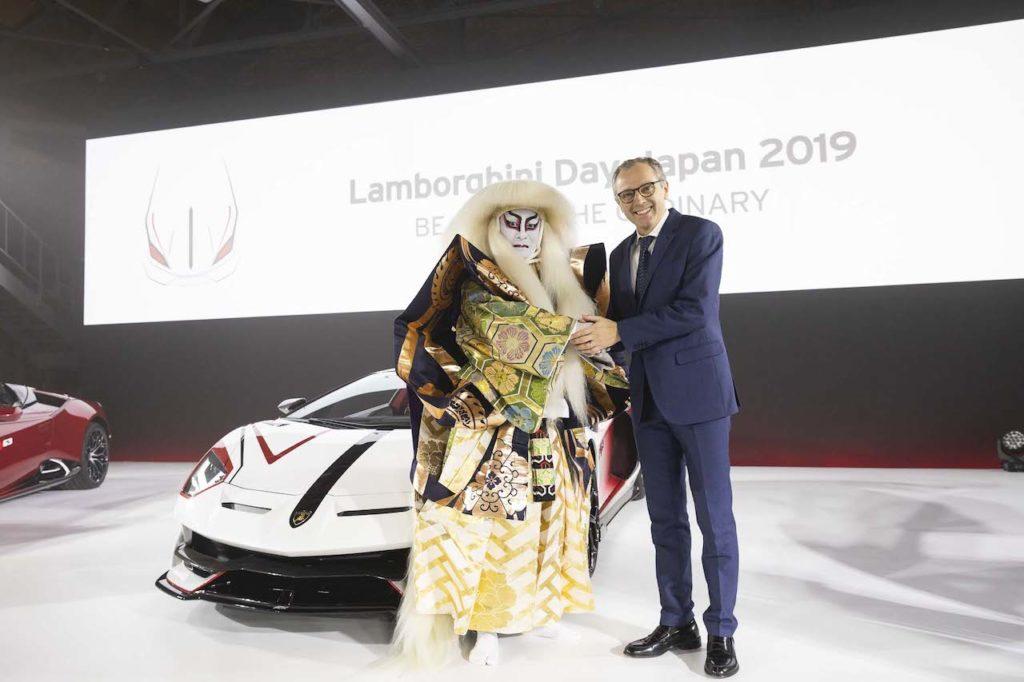 200台を超える猛牛が大阪に集結した「ランボルギーニ ディ ジャパン 2019」片岡愛之助も登場