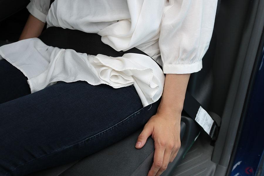 着用義務化から10年… 後席シートベルトの現状とは 約3人に2人が「していない」