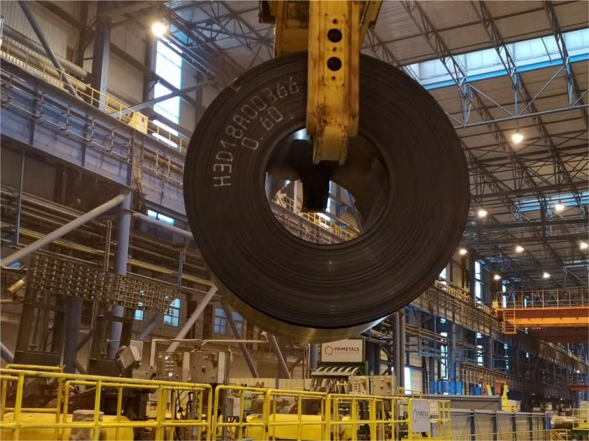 プライメタルズテクノロジーズ:日照鋼鉄Arvedi ESPラインで厚さ0.6 mmの極薄熱延鋼板の生産に成功、世界記録達成