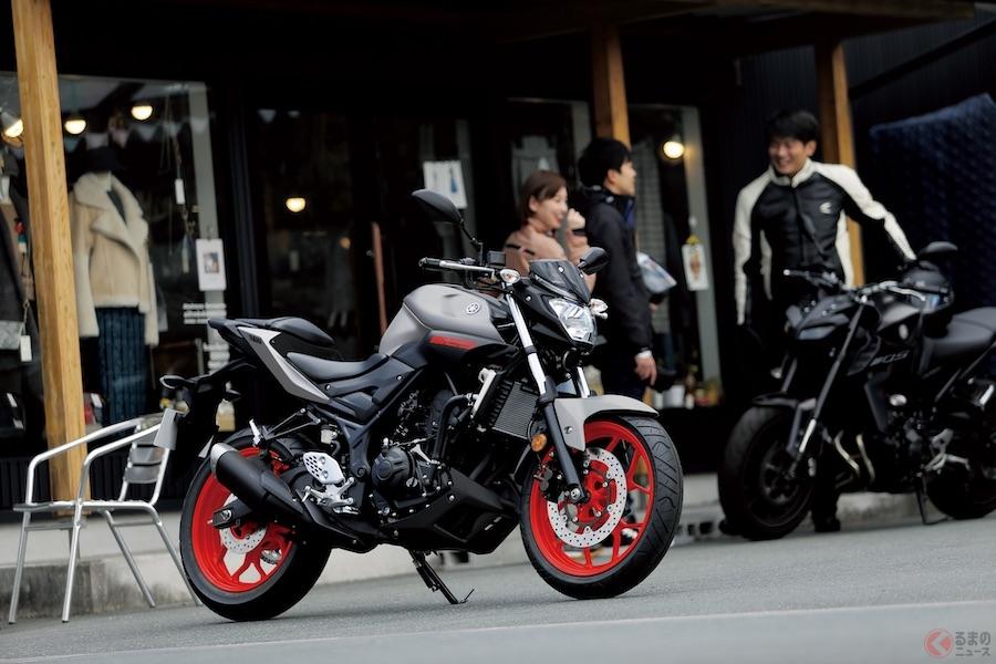 ヤマハ「MTシリーズ」 エントリーモデル2車種のカラーリングを変更し発売