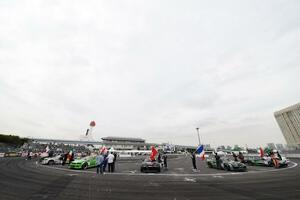 FIA公式のドリフト世界一決定戦! R35GT-R同士の決勝にてレグ1勝者は川畑真人に
