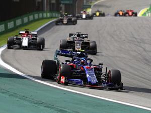 F1ブラジルGP、ガスリーが明かすハミルトンとの最後の攻防の後に見えたもの【モータースポーツ】