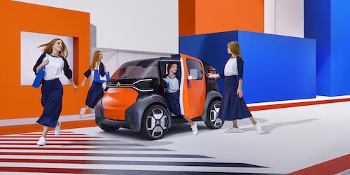 超小型EV「アミワン・コンセプト」日本初公開! シトロエンの現在と未来を体感できるイベントで披露