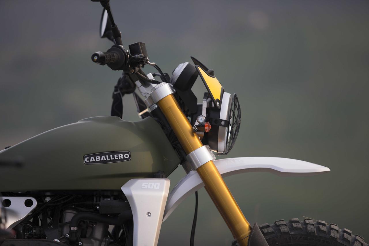 「FANTIC」の「CABALLERO」シリーズに、よりオフロード性能を高めた新型「RALLY500」が登場!