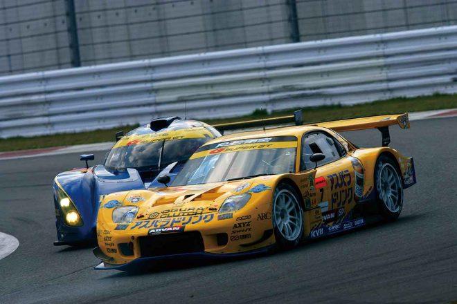 2006年最終戦富士、最終コーナー後に起きた雨宮RX7の逆転劇【スーパーGT名レース集】
