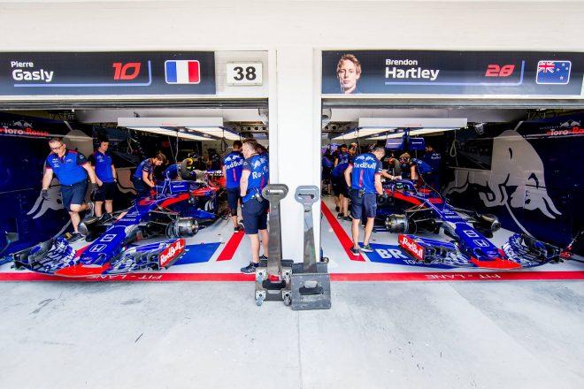 トロロッソ「ショートランでもロングランでも速かった。新パーツが想定どおり機能」:F1ハンガリーGP金曜