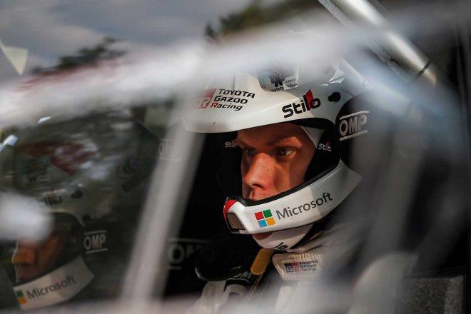 WRC:トヨタ、フィンランド2日目は2台が表彰台圏内。「すべてがうまく進んでいる」とマキネン