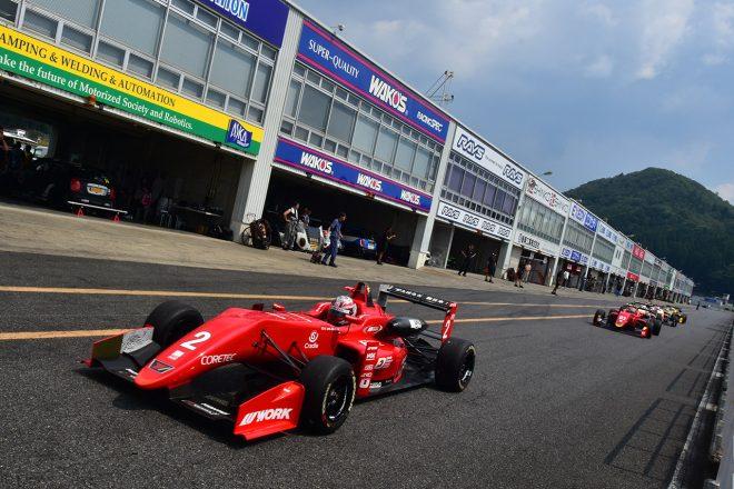 全日本F3選手権岡山ラウンドは台風接近によりタイムテーブル変更。第7戦/第8戦を28日に開催