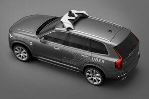 ボルボ 数万台規模の自動運転対応車をウーバーに販売することに合意