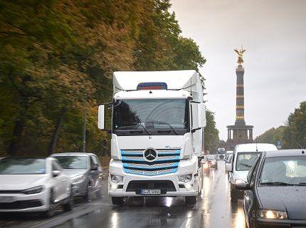 ダイムラー 2039年までに主要市場ですべての新型トラック・バスをCO2ニュートラルに
