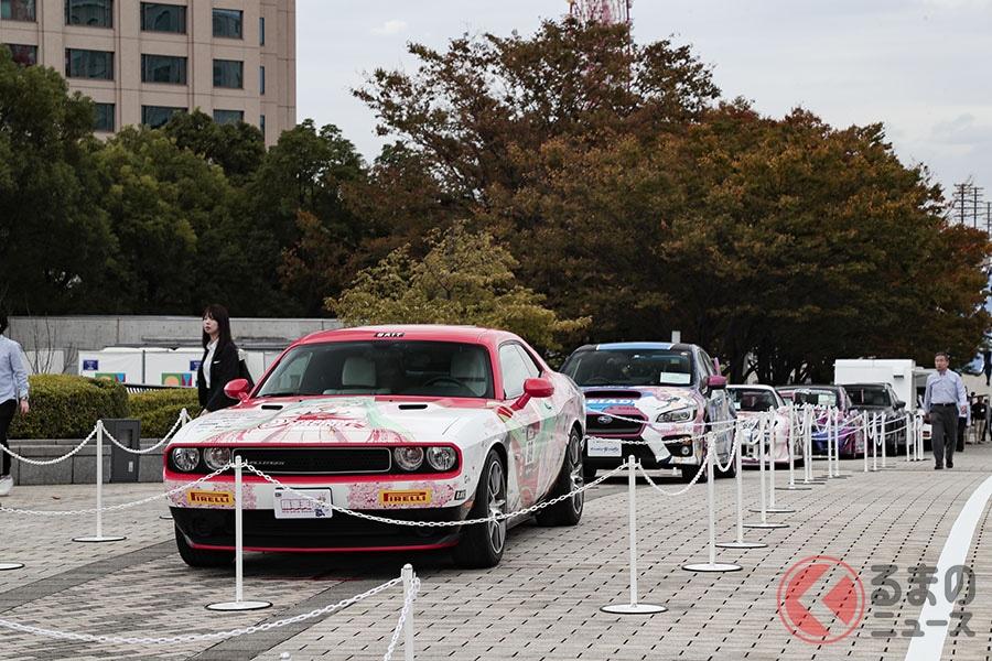 キズナアイと初音ミクがお台場に降臨! 萌キャラとクルマが東京モーターショーでコラボ