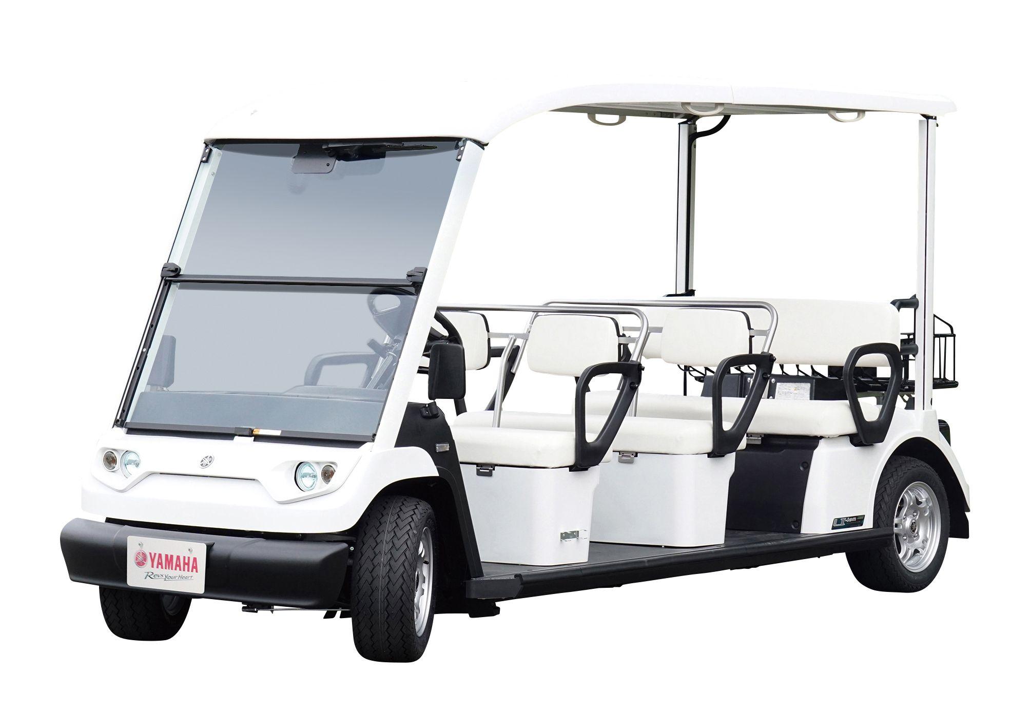 電動ゴルフカートを高齢者の「足」に活用へ ヤマハ発動機