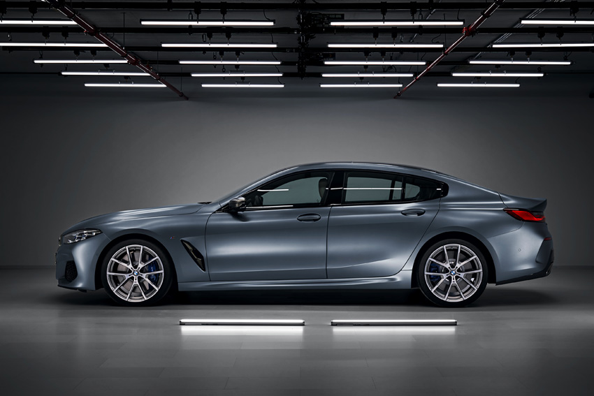 BMW ラグジュアリー4ドア・クーペ「8シリーズ グラン クーペ」デビュー