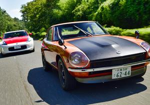 【これこそが夢の共演!】 日産 フェアレディZ 初代432-R&50周年記念モデルが歴史的ランデブー!!!