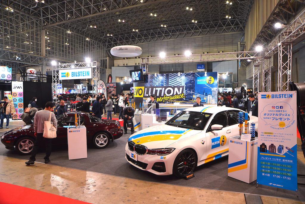 新車から旧車まで手厚い「ビルシュタイン」のリアル【東京オートサロン 2020】