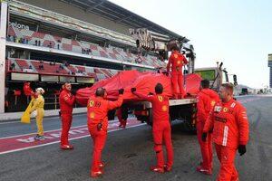 F1テスト1最終日に赤旗4回。メルセデスは昨年のPPタイムに迫る1分15秒台、フェラーリにPUトラブル