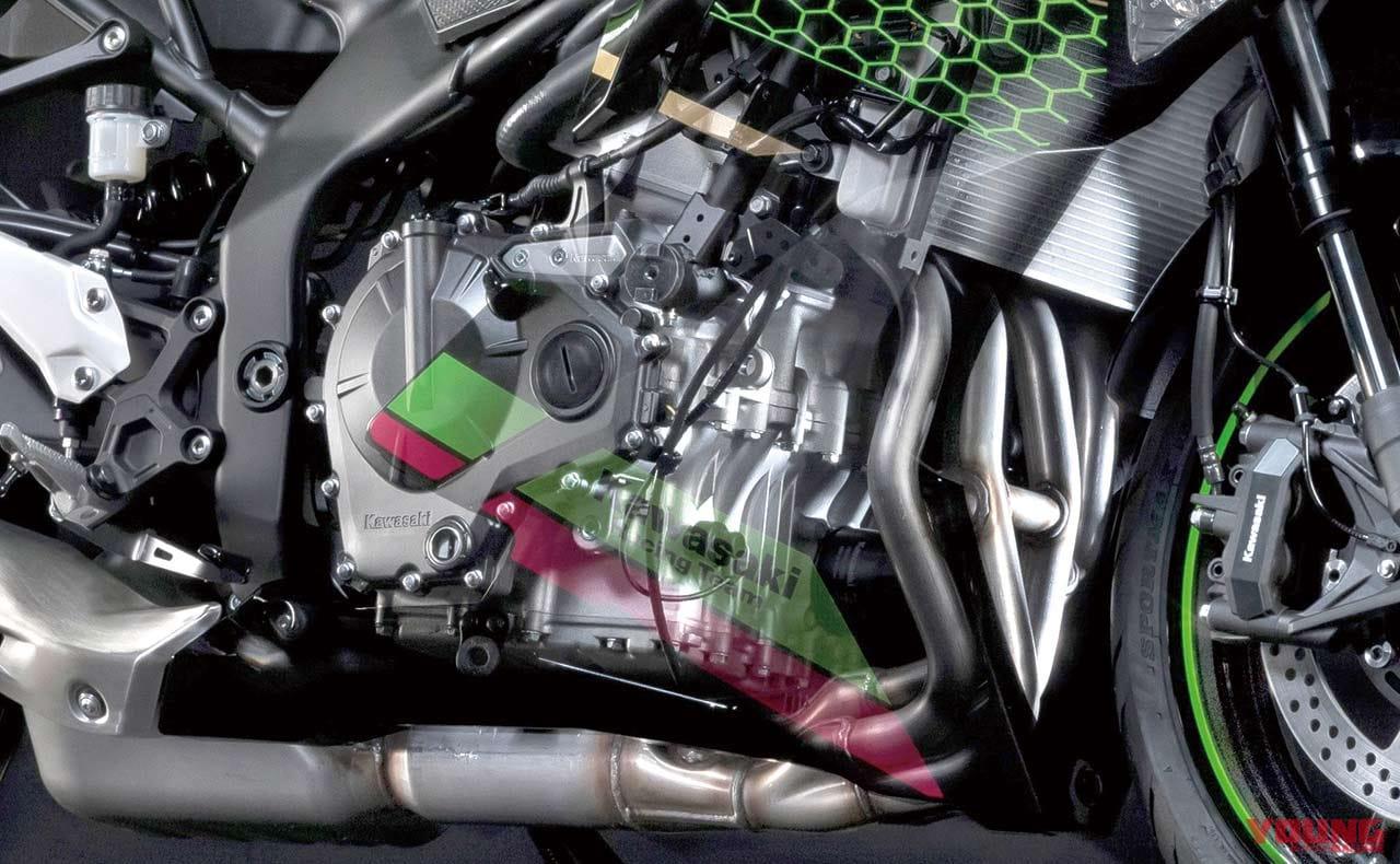 '20カワサキ Ninja ZX-25Rエンジン解説【250直4で45ps超え!?】