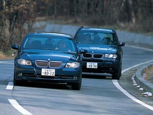 【ヒットの法則150】BMW X3 2.5iと330xiに見る、BMWの4WDへのスタンス