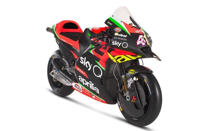 【ギャラリー】MotoGP:アプリリアの2020年型マシン『RS-GP』