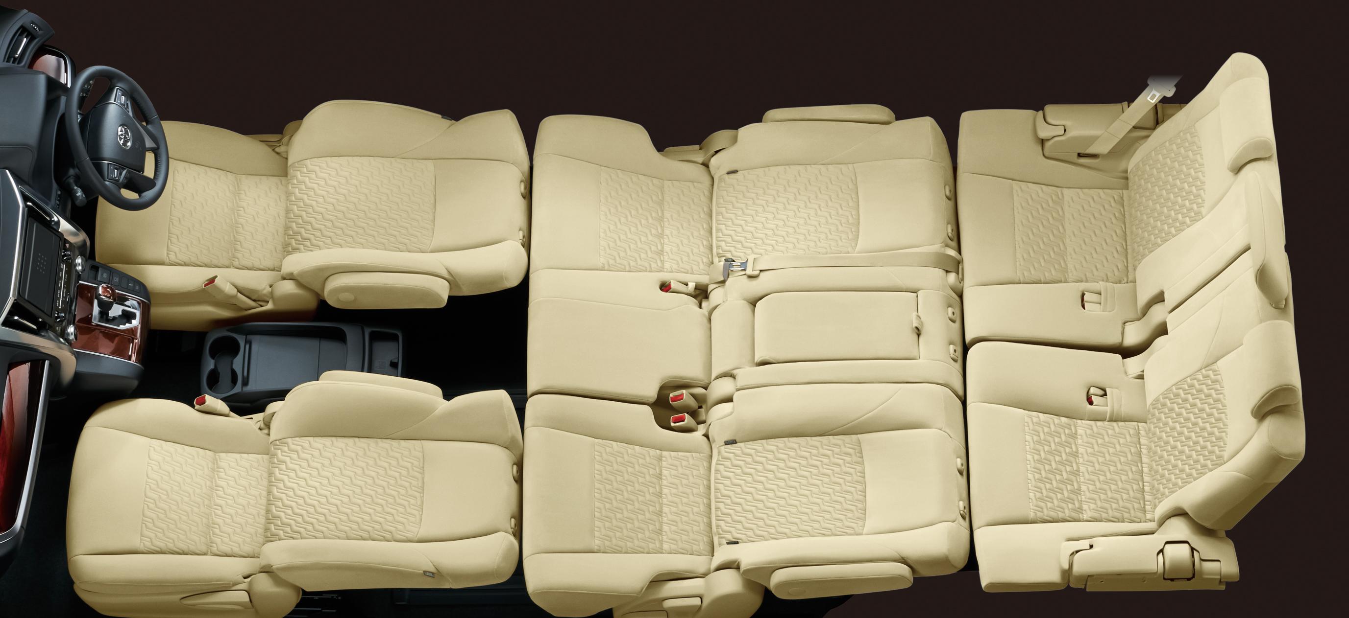 自動車のカタログで良くみる数字。後席シートアレンジで使われる数字の意味、ご存知ですか?