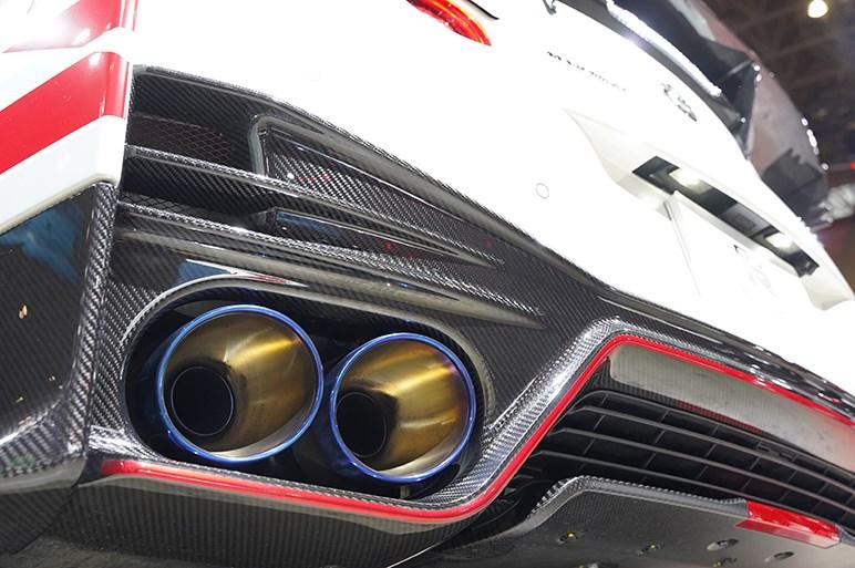 GT3タービンとカーボンパネルでパフォーマンスも価格も最強のGT-R NISMO - 東京オートサロン