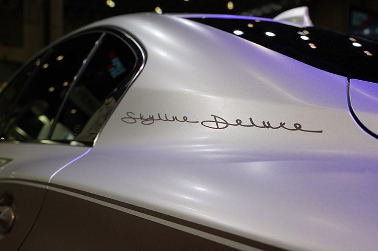 どことなくロールスロイスのような雰囲気? スカイライン デラックス アドバンスド コンセプト - 東京オートサロン