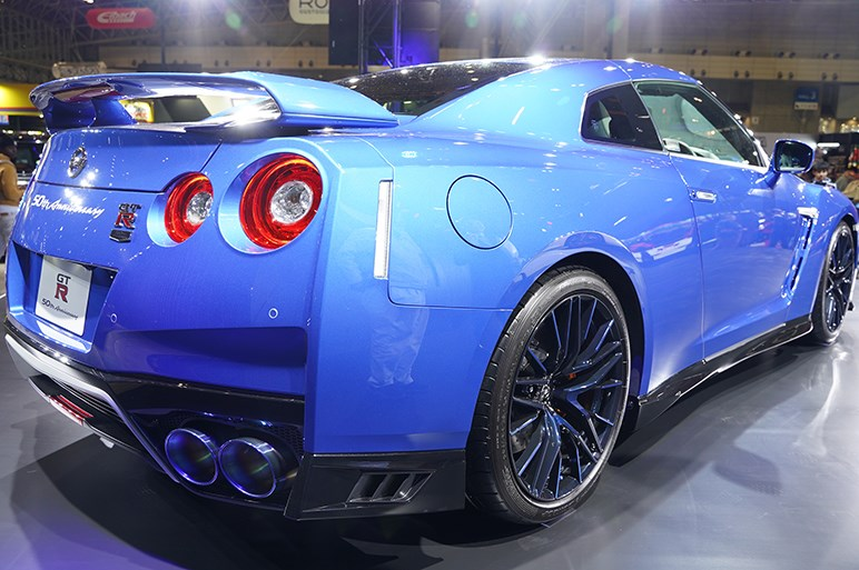 ニッサン GT-R 50th アニバーサリーは2020年3月末までの期間限定モデル - 東京オートサロン