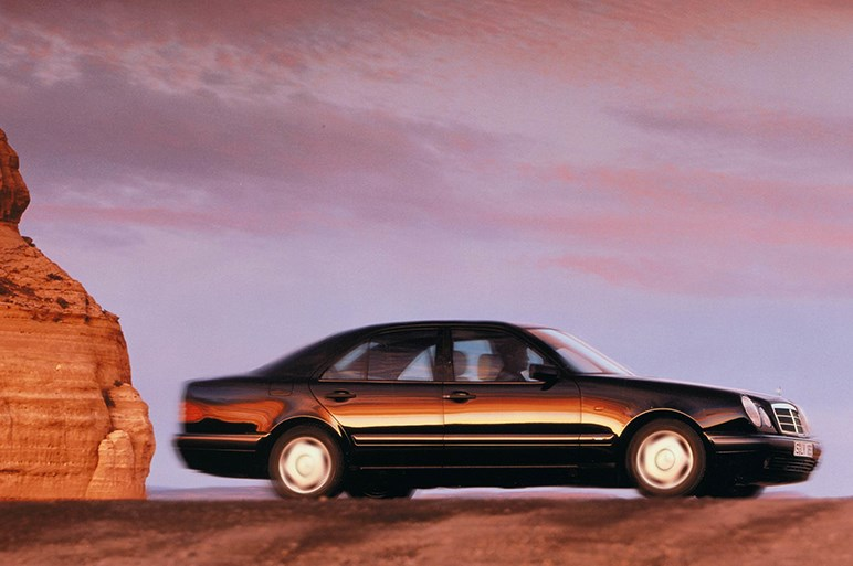 清水和夫が18年前のメルセデスE55 AMGを衝動買いした理由とは?