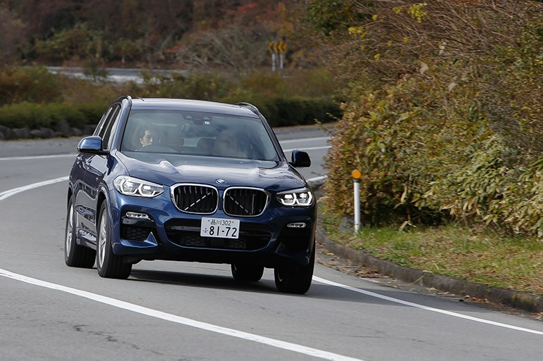 BMW新型X3はスポーティさと快適性の好バランスでライバルを凌ぐ