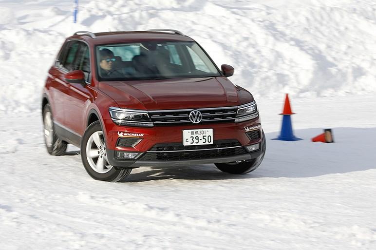 雪上で堅実な性格を改めて感じる 思いっきり安定志向のパサートオールトラックと地味なティグアン
