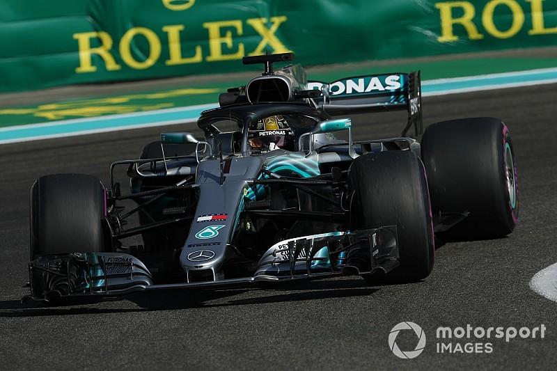 """ハミルトン、F1最終戦アブダビGPは王者の証""""カーナンバー1""""で臨む。FIAが特別許可"""