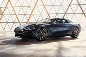 BMW、8シリーズクーぺの再来を示すコンセプトカーを披露