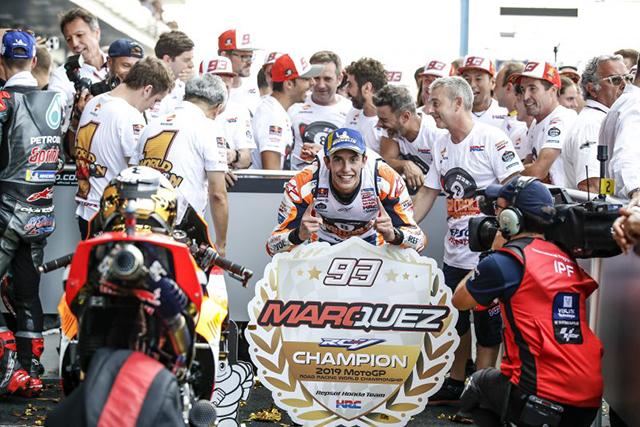 MotoGP:マルク・マルケスが8度目のタイトル獲得とともに決めた5つの新記録